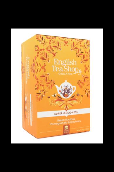 ETS 20 Zöld rooibos bio tea, gránátalmával és áfonyával új