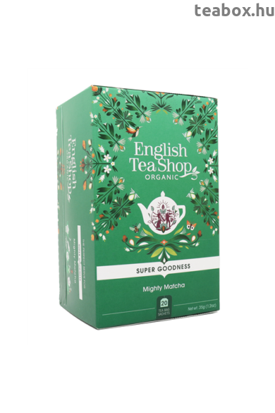 ETS 20 Szuper matcha bio tea új