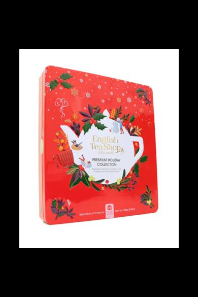 ETS 72 Karácsonyi/Ünnepi piros design prémium bio teaválogatás