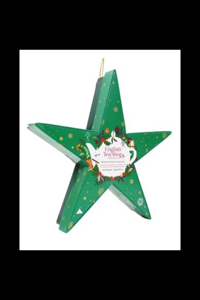 ETS 6 Karácsonyi Zöld Csillag bio teaválogatás