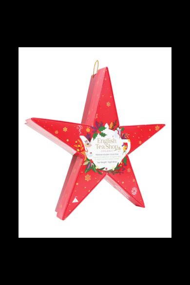 ETS 6 Karácsonyi Piros Csillag bio teaválogatás