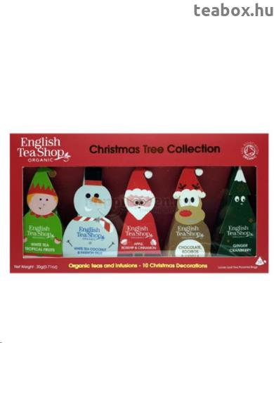 ETS 10 Karácsonyi mesefigura díszek bio teaválogatás