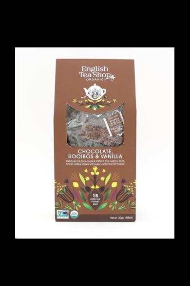 ETS 15 Csokis & Vaníliás rooibos bio tea -új