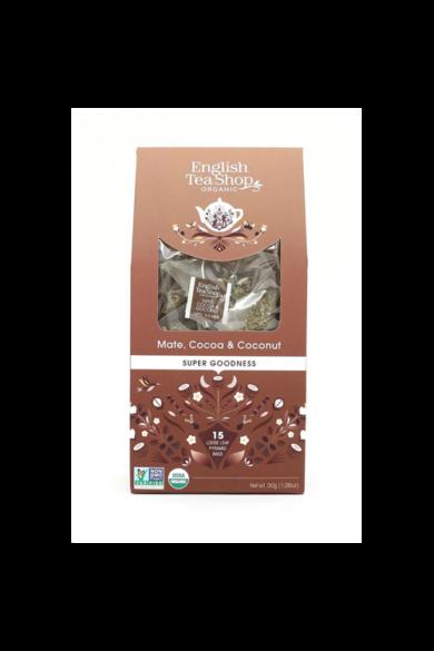 ETS 15 Mate Kakaó Kókusz bio tea-új