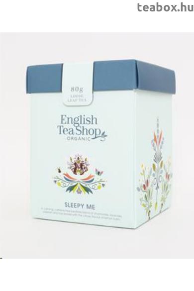 ETS 80g Wellness Sleepy Me szálas bio tea -új
