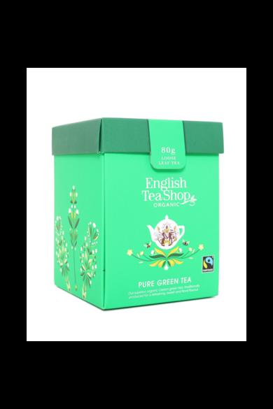 ETS 80g Tiszta Zöld szálas bio tea új