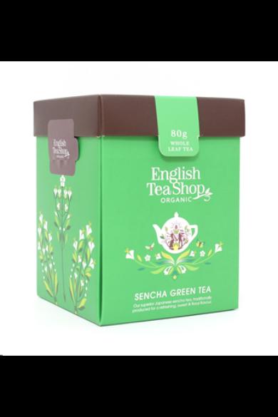 ETS 80g Japán Zöld Sencha szálas bio tea új
