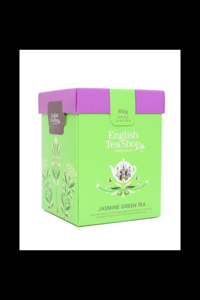 ETS 80g Zöld Jázmin szálas bio tea új