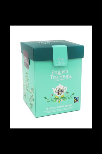 ETS 80g Borsmenta szálas bio tea új