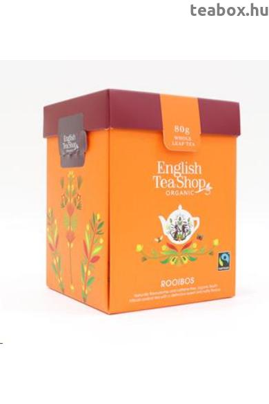 ETS 80g Rooibos szálas bio tea új