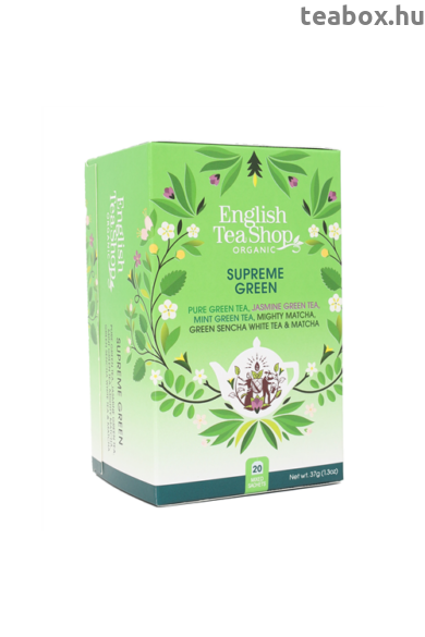 ETS 20 Supreme Zöld bio tea