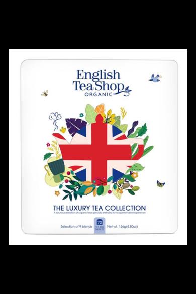 ETS 72 Fémdobozos Luxury Union Jack bio teaválogatás_új