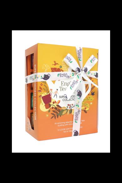 ETS 12 Ajándék Super Goodness selyempiramis filteres bio teaválogatás-új