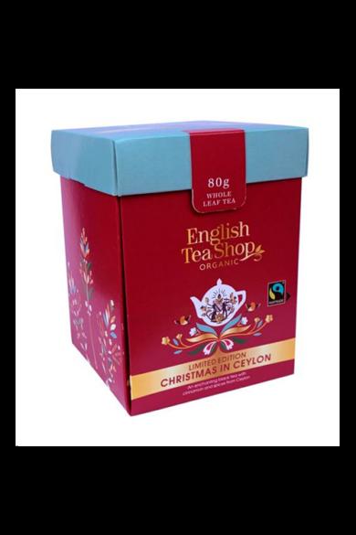 ETS 80g Xmas Fairtrade & Bio szálas tea -Limited Edition