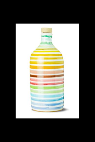 """MUR 500ml Porcelán Szivárvány Extraszűz olivaolaj """" Medium Fruty"""""""
